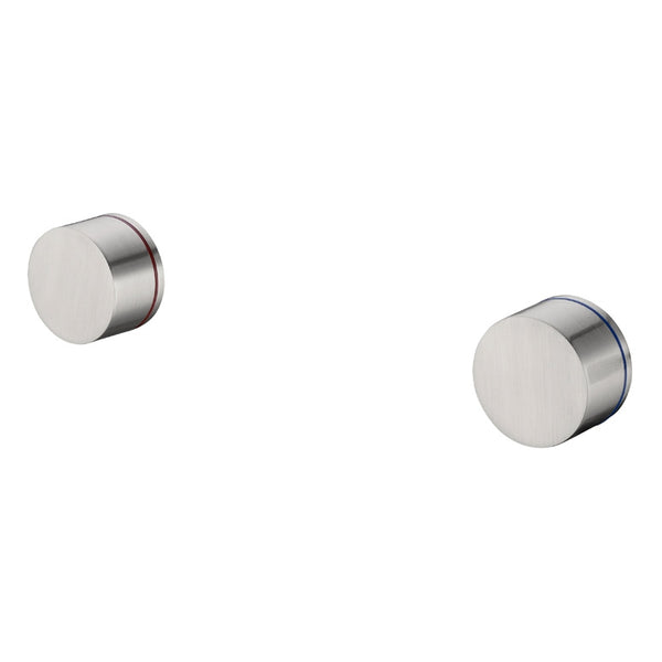 Kara Wall Top Assemblies - Brushed Nickel