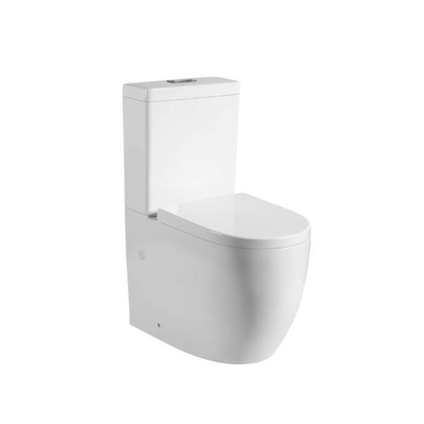 KDK 025 Nano Wall Faced Toilet Suite - Tornado Flush