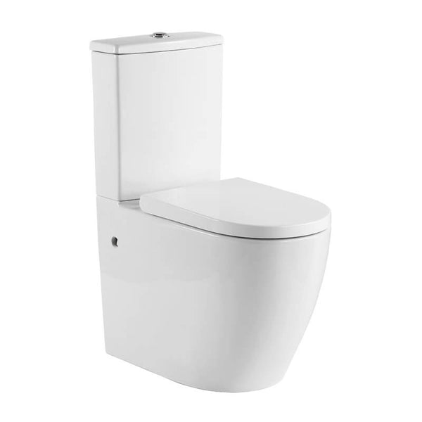 KDK 027 Raised Height Wall Faced Toilet Suite