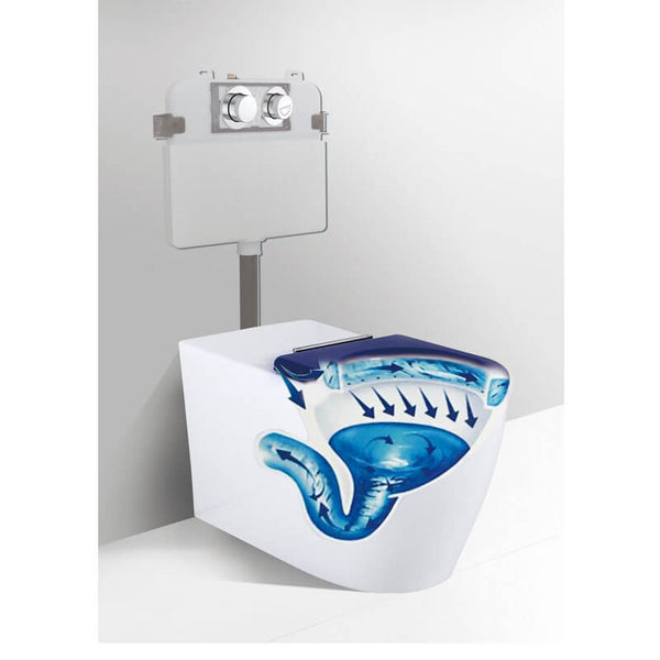KDK 106 Care Wall Faced Inwall Toilet Suite