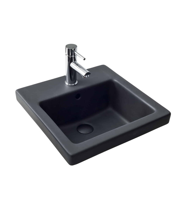 Kyra 430 Inset Basin - Black