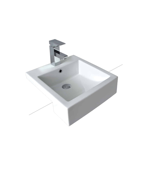 Kyra Semi Recessed Basin