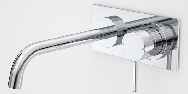 Caroma Liano Nexus Wall Basin/Bath Mixer - Chrome