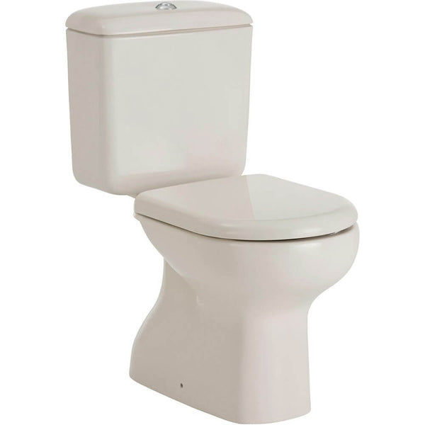Liwa Close Coupled Toilet Suite - Ivory