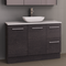 Manhattan 1200mm Floor Standing Vanity with SilkSurface Top and Basin, Single or Double