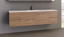 Manhattan 1800mm Wall Hung Vanity with Acrylic Top