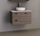 Manhattan 750mm Wall Hung Vanity with Above or Under Counter Basin