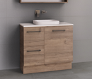 Manhattan 900mm Floor Standing Vanity Unit with Above or Under Counter Basin