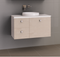Manhattan 900mm Wall Hung Vanity with Above Counter Basin