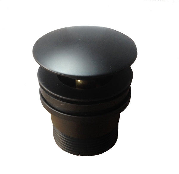 Mushroom Multi Pop Up Waste - Matte Black