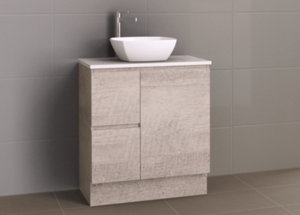 Manhattan 750mm Floor Standing with Above Counter Basin Vanity