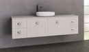 Manhattan Classic 1800mm Wall Hung Vanity, Single Above or Under Counter Basin