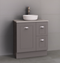 Manhattan Classic 750mm Floor Standing Vanity with Above or Under Counter Basin