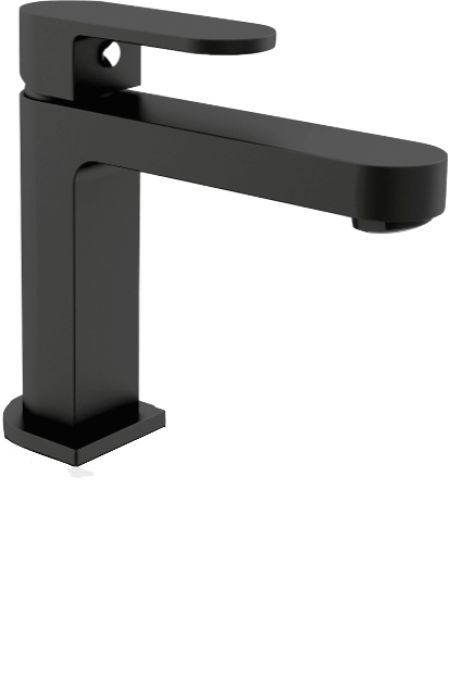 Ecco Basin Mixer, Black
