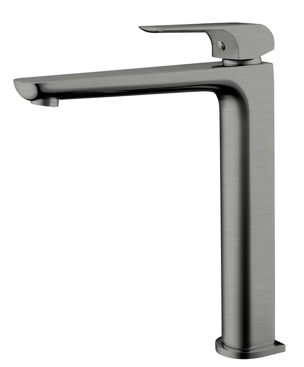 Fresh Tall Basin Mixer - Gunmetal