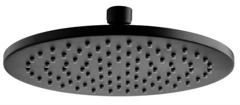 Nova Round Shower Head, Matte Black