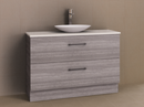 Manhattan All-Drawer 1200mm Floor Standing Vanity, Above or Under Counter Basin