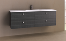 Manhattan All-Drawer 1500mm Wall Hung Vanity with Moulded Top