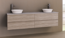 Manhattan All-Drawer 1800mm Wall Hung Vanity, Above or Under Counter Basin, Double Bowl