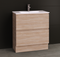 Manhattan All-Drawer 750mm Floor Standing Vanity with Ceramic Top