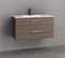 Manhattan All-Drawer 900mm Wall Hung Vanity, Ceramic Top, Centre or Offset
