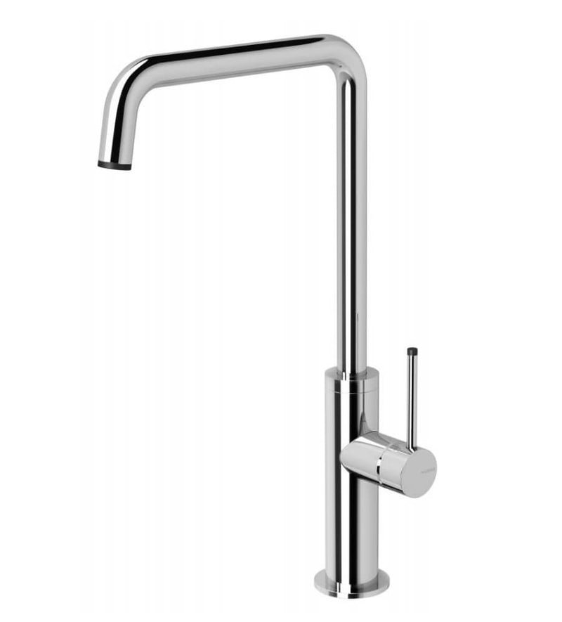 Phoenix Toi Sink Mixer 180mm Squareline, Chrome