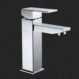 Sole Square Solid Handle Basin Mixer