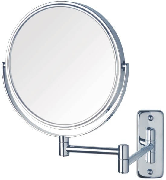 Ablaze Chrome Magnifying Mirror - Round