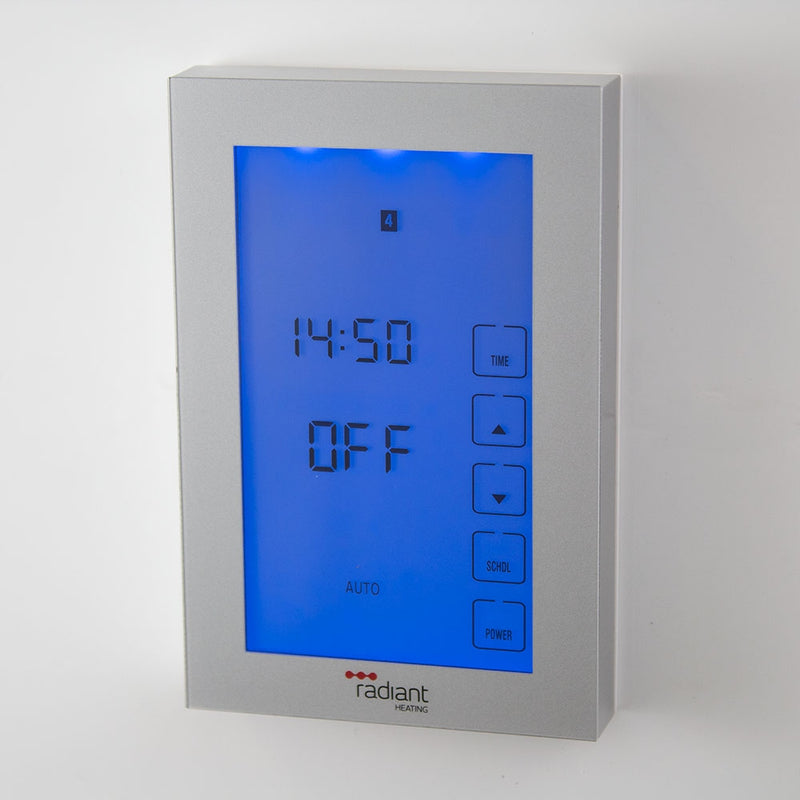 Radiant Glass Fronted Touch Screen Timer