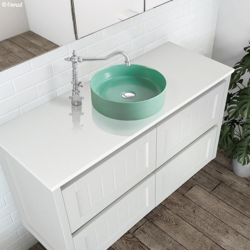 Fienza Reba Tiffany Above Counter Basin - Green