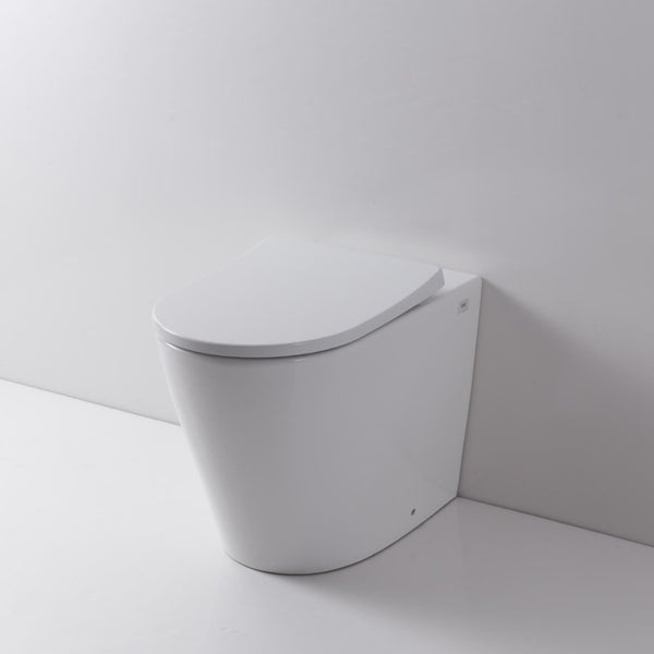 Rimini Rimless Wall Faced Pan & Seat