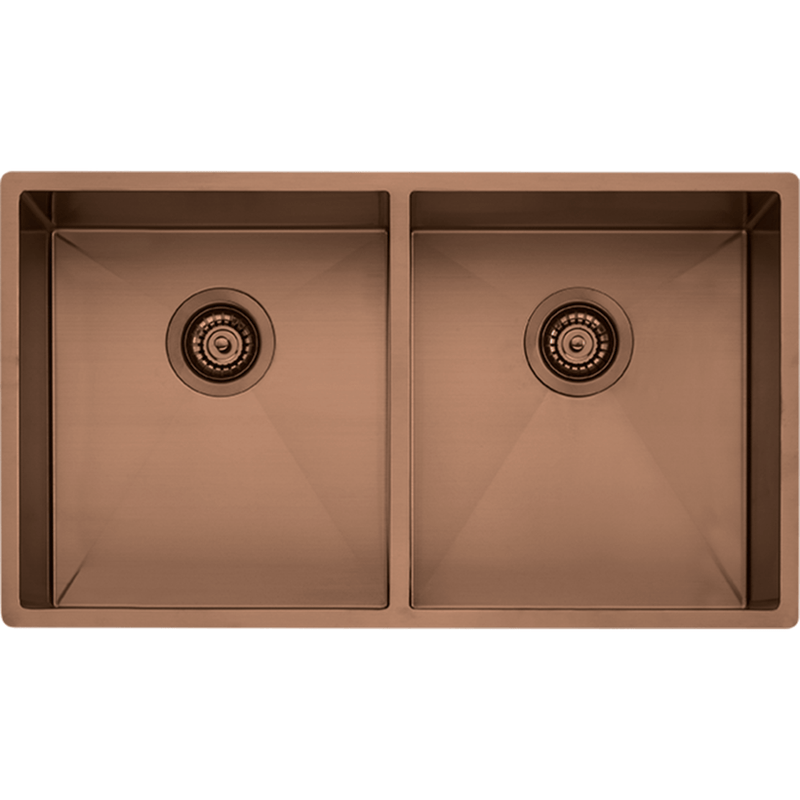 Spectra Double Bowl Copper Sink