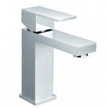 Sole Wide Square Handle Basin Mixer 35mm