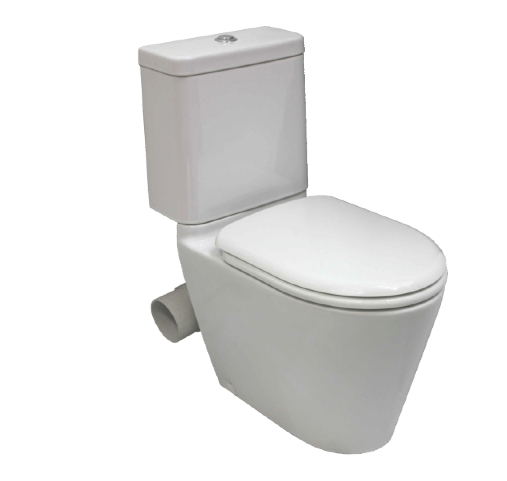 Gemini Space Solution Close Coupled Skew Toilet Suite