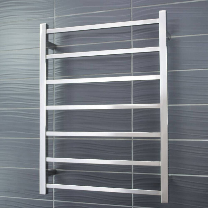 Radiant STR01 Square Heated Ladder 600x800, Polished