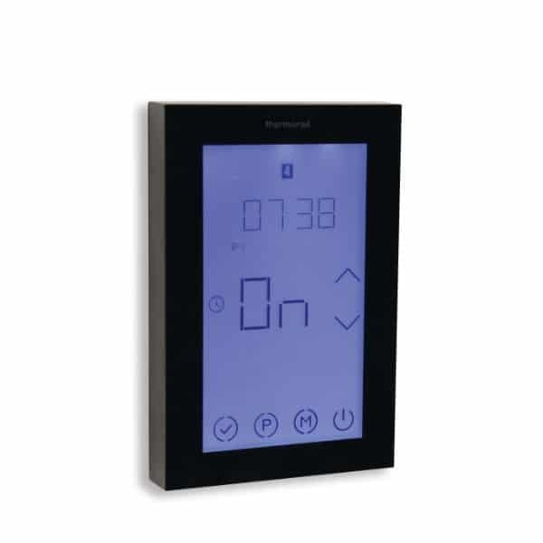 Thermorail Touch Screen 7 Day Timer – Black