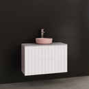 Timberline Thorne 900mm Wall Hung Vanity with Ceramic Basin