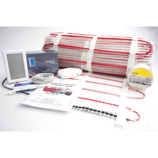 Radiant Under Tile Floor Heating Kit