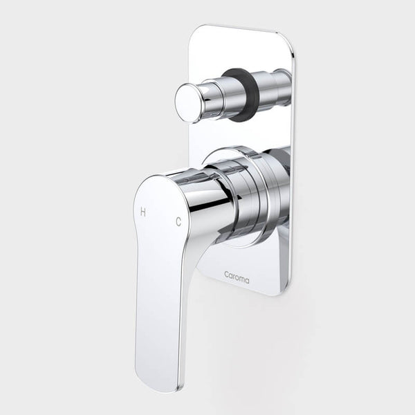 Caroma Urbane Bath/Shower Mixer with Diverter - Chrome