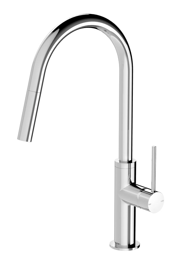 Vivid Slimline Pull Out Sink Mixer - Chrome