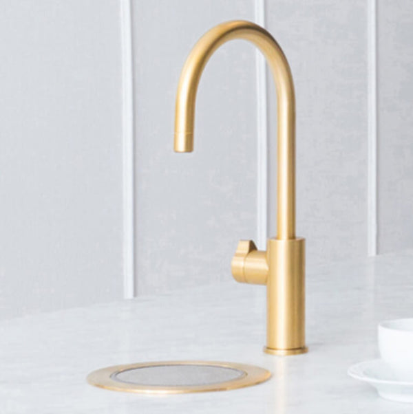 Zip Hydrotap Arc Boiling, Chilled and Sparkling Tap - Brushed Gold