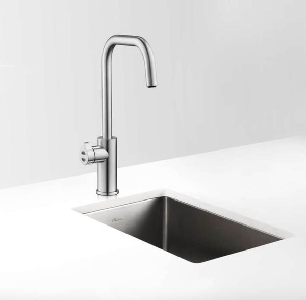 Zip Hydrotap Cube Boiling, Chilled and Sparkling Tap - Brushed Chrome