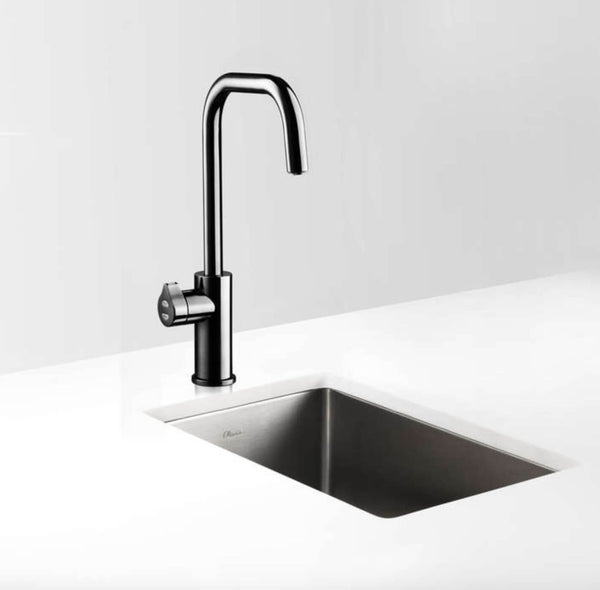 Zip Hydrotap Cube Boiling, Chilled and Sparkling Tap - Gloss Black