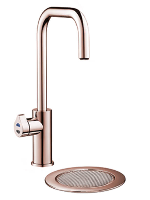 Zip Hydrotap Cube Boiling, Chilled and Sparkling Tap - Rose Gold