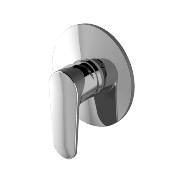 Zucchetti Sun Shower/Bath Mixer, Chrome