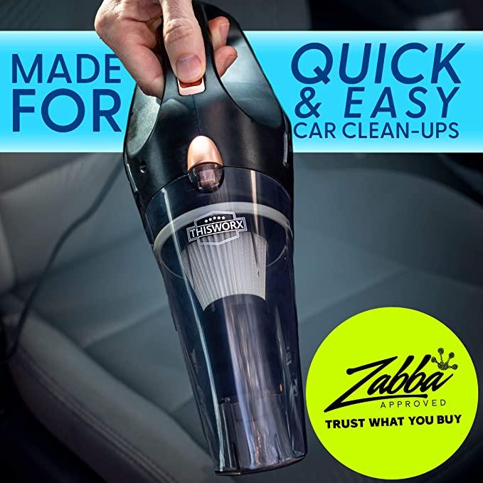Portable Car Vacuum Cleaner - Handy Accessories Store