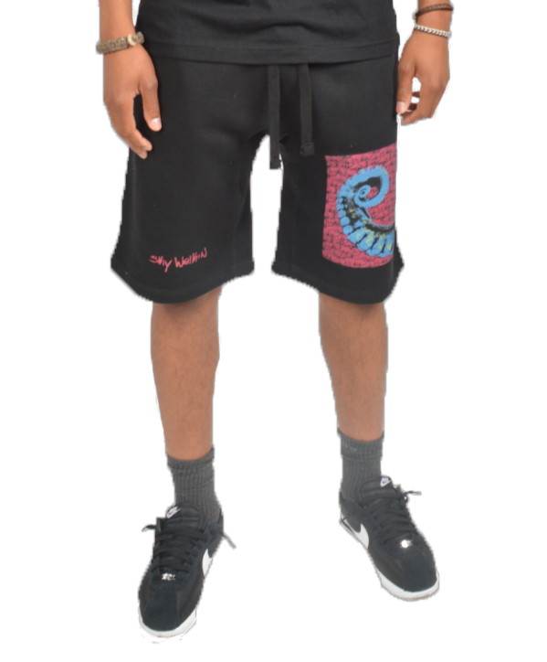 Tentacle Shorts Black