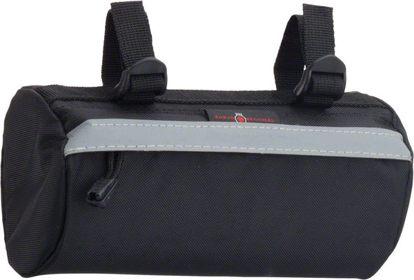 Banjo Brothers Handlebar Bag: SM,Black