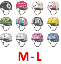 Youth Bike Helmets - Adjustable Size M-L