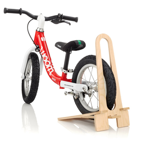 WOOM Wooden Bike Stand Preorder for June